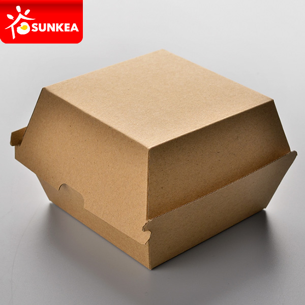 รับออกแบบกล่องบรรจุภัณฑ์ แฮมเบอร์เกอร์