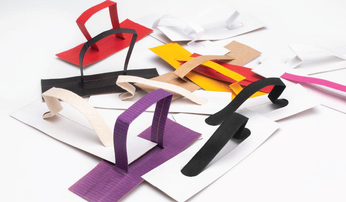 100% paper handle นวัตกรรมด้ามจับทำจากกระดาษ 100% ราคาคุ้มค่า ยกน้ำหนักได้ถึง 20 KG